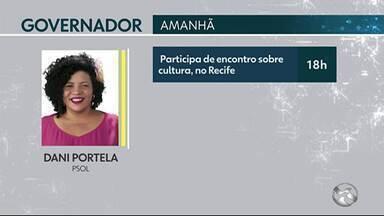 Confira as agendas do candidatos ao governo de Pernambuco - Armando Monteiro e Paulo Câmara fazem campanhas nas ruas.