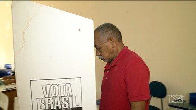 TRE realiza votação simulada em Montes Altos - A cidade é uma das que terão a primeira eleição através do voto biométrico em 2018.