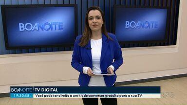 Sinal analógico será desligado em 155 cidades do Paraná - Confira se você tem direito ao kit digital gratuito.