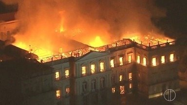 Peças da história da Região dos Lagos estavam no Museu Nacional, destruído por incêndio - Assista a seguir.