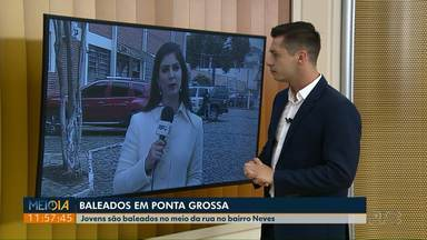 Dois jovens são baleados no meio da rua no bairro Neves em Ponta Grossa - Os crimes aconteceram na noite de segunda-feira (03).