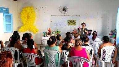 Mulheres recebem cursos de capacitação, no Cariri - Saiba mais em g1.com.br/ce