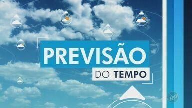 Veja a previsão do tempo nesta quinta-feira em Campinas e região - Em Campinas, temperaturas variam entre 12°C e 25°C.