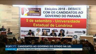 Candidatos ao governo cumprem agenda em Curitiba e no interior - Veja como foi a quarta-feira, 5, dos candidatos ao governo do Estado.