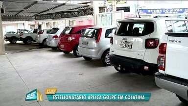 Estelionatário aplica golpes na compra de carro, em Colatina - A OLX disse que já bloqueou o anúncio do golpista.