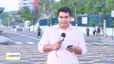 Homem é morto após tiroteio na Zona Norte de Manaus - Veja informações com o repórter Breno Cabral.