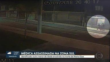 Polícia identifica um dos assaltantes envolvidos na morte da médica Maria Eliza - O crime ocorreu na quarta-feira (5) à noite. Três bandidos roubaram o carro de Maria Eliza no Jardim Aeroporto. A médica foi atropelada e arrastada pela avenida. Um adolescente foi apreendido na favela Alba, onde o veículo da vítima foi encontrado.