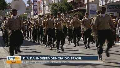 Desfiles no Sul de MG comemoram o dia da independência do Brasil - Desfiles no Sul de MG comemoram o dia da independência do Brasil