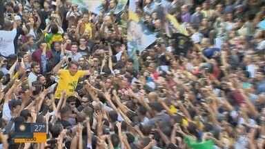 Homem que atacou Bolsonaro em ato de campanha é de Montes Claros, MG - Homem que atacou Bolsonaro em ato de campanha é de Montes Claros, MG
