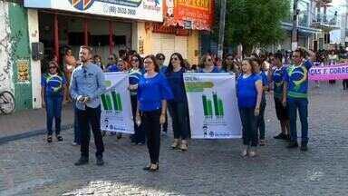 Barbalha o desfile ocorreu na sexta-feira reuniu cerca de 3 mil pessoas - 7 de Setembro.