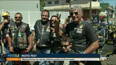 Motofest reúne motociclistas de todo país em Paranavaí - Festa é realizada durante todo fim de semana, no Parque de Exposições.
