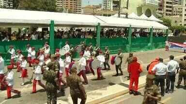 Confira as imagens do desfile de Sete de Setembro em Fortaleza - Confira mais notícias em g1.globo.com/ce