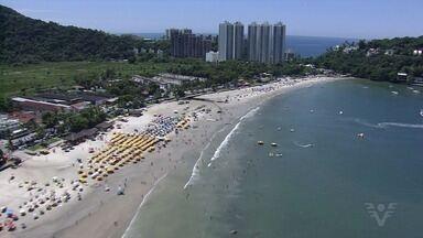Hotéis da Baixada Santista estão cerca de 90% ocupados - Turistas aproveitaram o feriado prolongado para viajar.