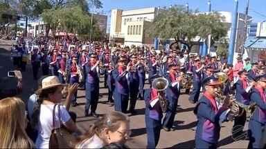 Desfiles e eventos marcam comemorações do 7 de Setembro no sul de MS - Vários eventos foram promovidos para celebrar o Dia da Independência.