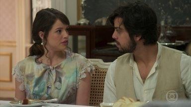 Ernesto reclama de Ema com Elisabeta - Jane encoraja a reconciliação deles