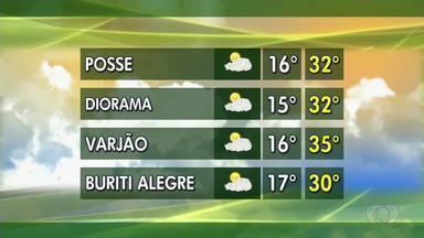 Confira a previsão do tempo para Goiás nesta semana - Com umidade do ar em baixa, é preciso tomar cuidado nas fazendas.