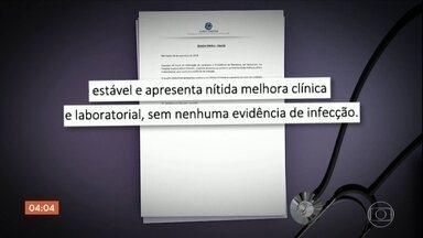 Jair Bolsonaro apresenta boa recuperação de saúde - O último boletim médico indicou que Jair Bolsonaro apresenta uma leve anemia.