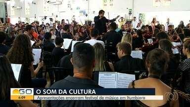 Festival de Música Instrumental movimenta Itumbiara, em Goiás - Evento promoveu dias de apresentações de música clássica na cidade.