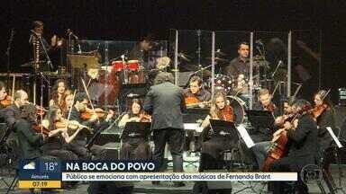 Fernando Brant é homenageado pela Orquestra Ouro Preto - No repertório, músicas que fazem parte da vida de muita gente.