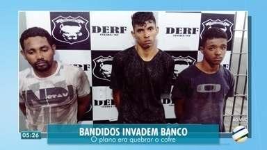 Mais um banco é invadido em Cuiabá - Mais um banco é invadido em Cuiabá