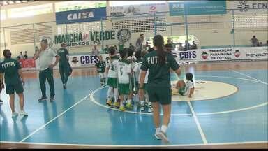 Veja como foi a festa do Palmeiras, campeão da Taça Brasil de Futsal Sub-9 - Verdão venceu o Fluminense na final, por 4 a 2, e ficou com o título em João Pessoa