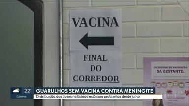 Guarulhos está sem vacinas contra a meningite desde julho - A segunda maior cidade do estado está sem uma das vacinas obrigatórias no calendário das crianças. A meningite pode matar.