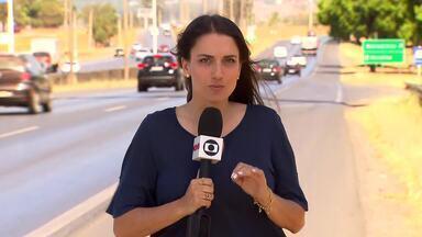Menina de 13 anos é atropelada após ser assaltada na BR-020 - Foi no domingo (09/08), entre Sobradinho e Planaltina. Nesse mesmo dia, foram registrados pelo menos cinco acidentes com vítimas.