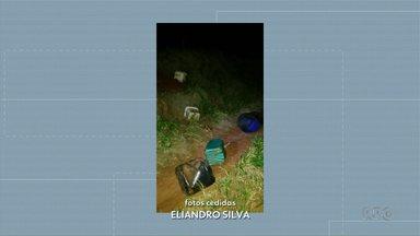 Idosa é encontrada morta em buraco de tatu - A polícia está investigando as causas da morte.