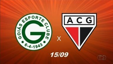 Após resultados diferentes, Goiás e Atlético-GO iniciam semana de olho no clássico - Rivais se enfrentam no Estádio Olímpico, sábado, em confronto direto na tabela
