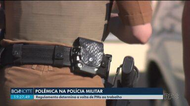 Associação dos Praças pede na justiça a suspensão de um regulamento da PM - De acordo com o documento, a Junta Médica da Polícia Militar pode pedir a volta de policiais afastados ao trabalho.