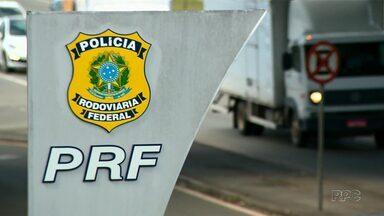 Um a cada 5 veículos apreendidos com drogas é roubado no Paraná - De acordo com a Polícia Rodoviária Federal, os carros são roubados em outras regiões do país e levados pra região de fronteira no Paraná.
