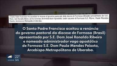 Papa Francisco acolhe pedido de renúncia de bispo acusado de desviar dízimos em Formosa - O anúncio foi publicado pelo Vaticano. Dom José Ronaldo responde processo sobre desvio de dinheiro da Igreja Católica.