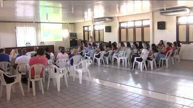 Profissionais de Saúde participam de treinamento sobre tuberculose em Santa Inês - Treinamento tem o intuito de tornar mais rápido e eficaz o diagnóstico da doença.