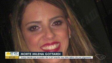 Morte de médica completa um ano no ES - Milena Gottardi foi morta no dia 15 de setembro de 2017.