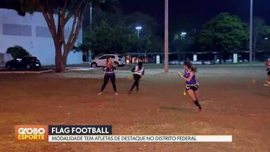 Conheça o flag football - Esporte é teve origem no futebol americano. Brasiliense se destaca no mundial da modalidade.