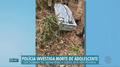 Polícia investiga morte de adolescente - Polícia investiga morte de adolescente