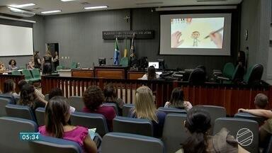 Projeto Padrinho é oportunidades de abrigados receberem mais afeto - Crianças e adolescentes que vivem em abrigos de Mato Grosso do Sul podem receber afeto através de padrinhos. Projeto é do Tribunal de Justiça de Mato Grosso do Sul.