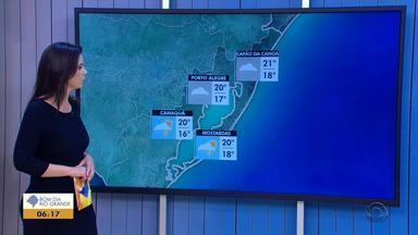 Tempo: temperatura chega aos 20ºC em Porto Alegre nesta sexta e chove em todas as regiões - A previsão é que o tempo instável siga nos próximos dias na Capital.