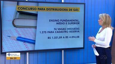 Distribuidora de gás abre concurso com mais de mil vagas abertas para o RS - As inscrições devem ser feitas pela internet até o dia 1º de outubro.