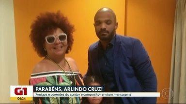 G1 no Bom Dia Rio: Amigos e parentes de Arlindo Cruz parabenizam cantor pelo aniversário - O aniversário do cantor e compositor é nesta sexta-feira (14).