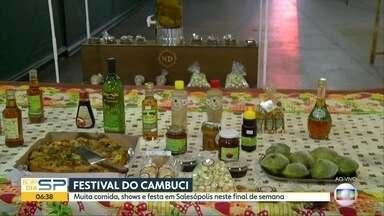 Salesópolis recebe festival do Cambuci neste final de semana - Evento tem shows, festa e muita comida. Entrada é gratuita.