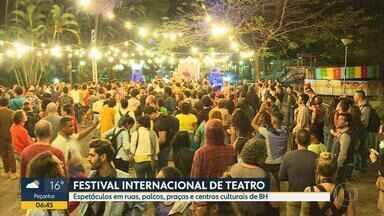 Abertura do FIT, no Parque Municipal de BH, surpreende público - Espetáculos em ruas, palcos, praças e centros culturais da capital.
