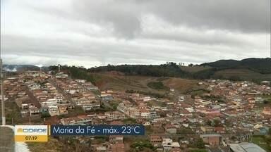 Confira a previsão do tempo em Maria da Fé, MG - Confira a previsão do tempo em Maria da Fé, MG