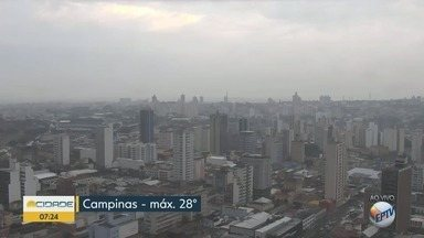 Campinas tem máxima de 28ºC nesta sexta-feira - Confira a previsão do tempo nas cidades da região.