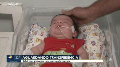 Drama: família luta para conseguir transferência de bebê com síndrome rara em Conquista - A família mora em Vitória da Conquista e a criança de dois meses precisa ser transferida para Salvador.