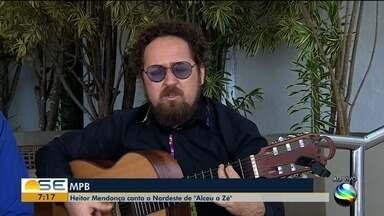 """Heitor Mendonça canta o Nordeste de """"Alceu a Zé"""" - Apresentação ocorre às 20h no 'Café da Gente', em Aracaju."""