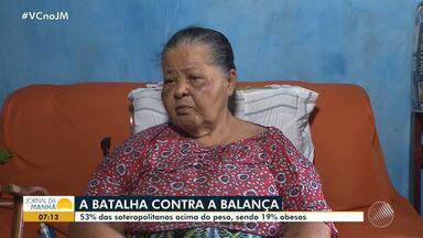 Pesquisa aponta que 53% dos soteropolitanos estão acima do peso - A pesquisa também afirma que 19% dos habitantes da capital baiana estão obesos.