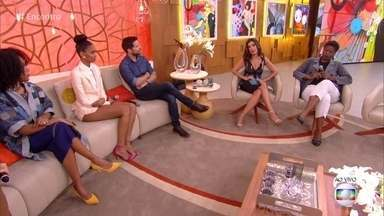 Fátima Bernardes e convidados conversam sobre racismo - Caso da advogada Valéria dos Santos, algemada em audiência, ganhou as redes sociais e reascendeu a discussão do tema