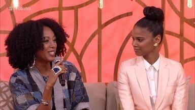 Aline Dias e Negra Li falam sobre o retorno ao trabalho após a maternidade - Elas falam sobre a alegria de trabalhar no que gostam