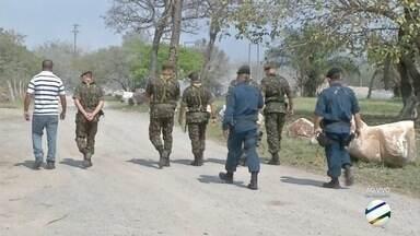 Exército faz operação em empresas de Corumbá - Operação Dínamo fiscaliza estabelecimentos que trabalham com explosivos.